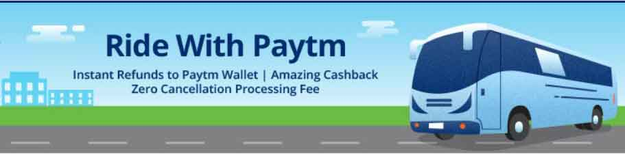 New Offers on Paytm Bus Ticket Bookings in 2019